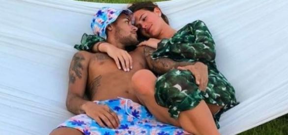O casal publica regularmente fotos da sua intimidade