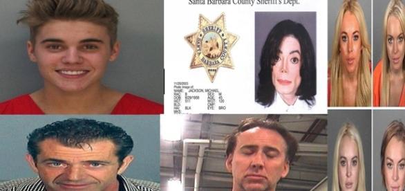 Saiba quem são os famosos que já foram presos