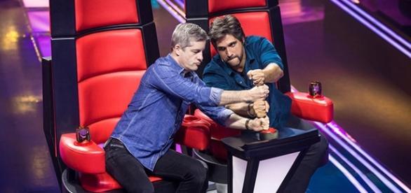 Victor & Léo são jurados do programa The Voice Kids Brasil
