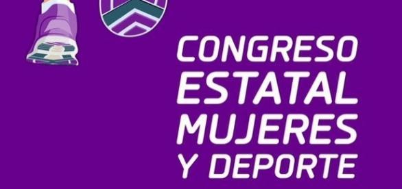 Cartel oficial del Congreso Estatal Mujeres y Deporte