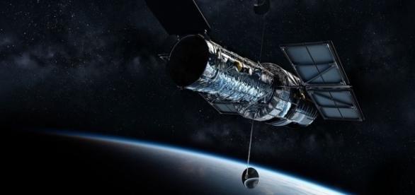 Hubble Telescope, Pixabay Andrew-Art https://pixabay.com/en/hubble-telescope-universe-1347645/
