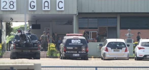 Investigações iniciaram ainda durante a madrugada. Recrutas envolvidos já estão presos na sede do 28º GAC, em Criciúma/SC