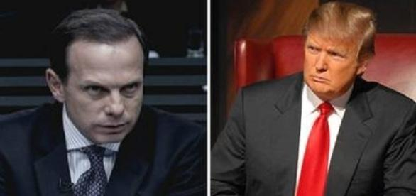 Prefeito João Doria e Presidente Donald Trump
