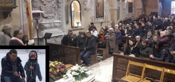 Slujba oficiată în Italia pentru Ioan Samson și fiul său, victime ale tragicului accident din Italia