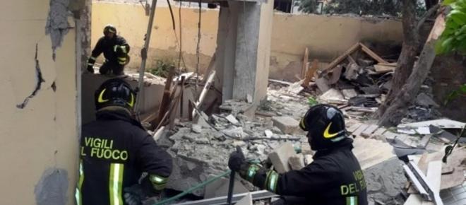 Catania: crolla una palazzina, una bimba è in gravi condizioni
