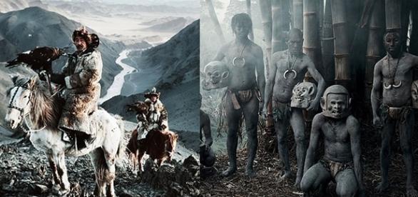 O fotógrafo retrata, de maneira fantástica, a cultura de cada tribo (Fotos - Jimmy Nelson)