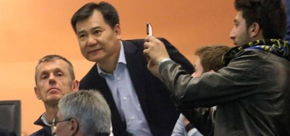 Inter - Roma: la rabbia di Zhang Jindong nel post partita