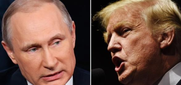 Putin and Donald. Friends or foes? Imgae sourced via Blastingnews library