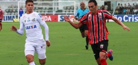 Santos quebrou jejum de três jogos sem vitória