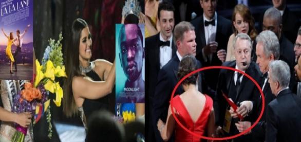 Apresentador da Oscar a filme errado -Google