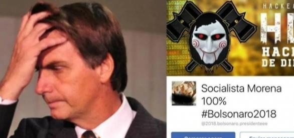 Ataque promovido por apoiadores de Bolsonaro invade páginas de esquerda
