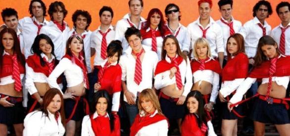Elenco da novela Rebelde/Televisa