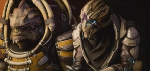 Five minutes of Mass Effect Andromeda gameplay reveals krogan ... - eurogamer.net
