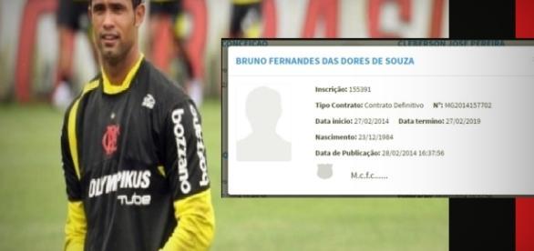 Goleiro Bruno tem contrato para voltar a jogar - Google