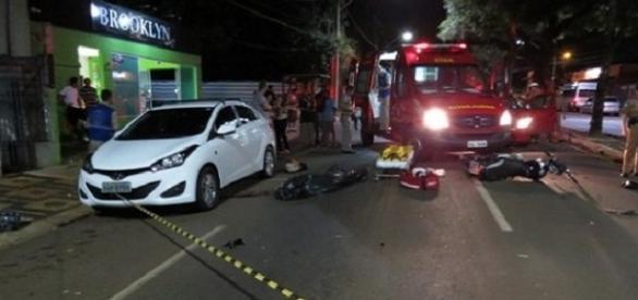 Motorista bêbado tira vida de motociclista em ponta Grossa - PR