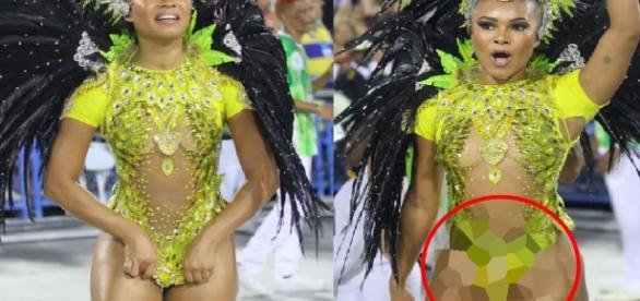 Musa do Carnaval - Imagem/Google