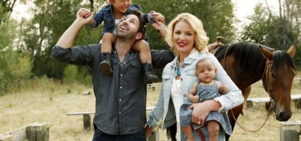 Katherine Heigl shares candid photo of growing family