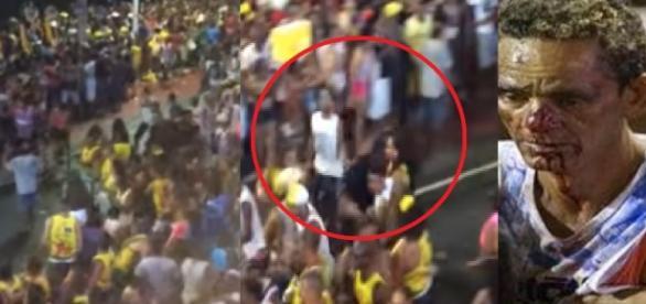 Carnaval termina em pancadaria na Bahia