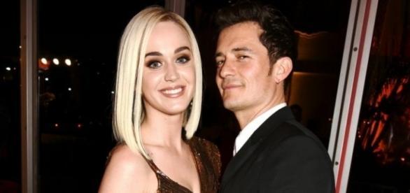 Katy Perry y Orlando Bloom antes de su rompimiento en la fiesta de Vanity Fair