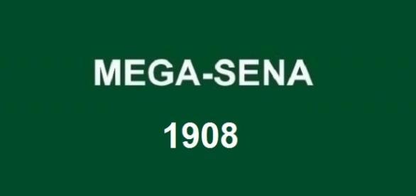 Resultado do sorteio Mega-Sena 1908 será divulgado nessa quarta, dia 1º