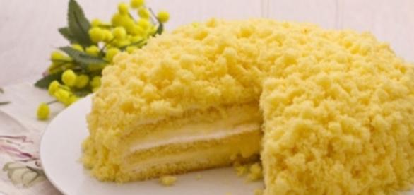 Torta mimose: festa delle donne