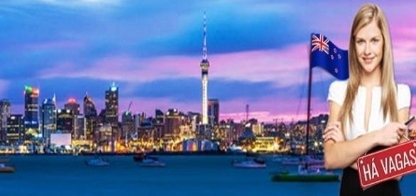 Vagas de emprego na Nova Zelândia