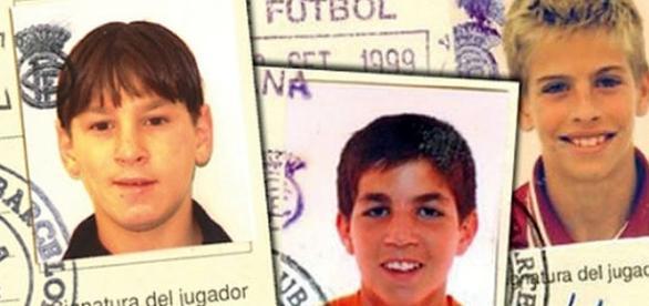 Adivina quien es Messi, quien Cesc Fabregas y quien es Pique ... - wordpress.com