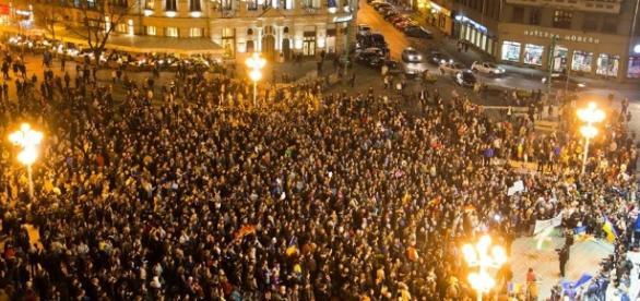 demonstraţii şi provocări antiromâneşti