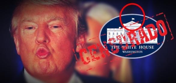 Donald Trump e o polêmico código secreto - Foto/Montagem