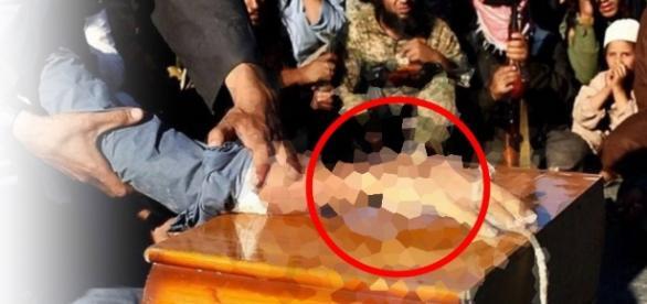 Estado Islâmico corta mão de crianças - Foto/Reprodução