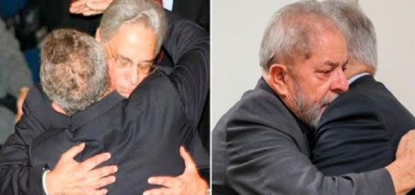 FHC abraça Lula nove anos após morte de sua esposa - Google