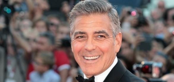 George Clooney vai se pai pela primeira vez