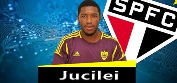Jucilei deve vestir a camisa do Tricolor (Foto: Reprodução/São Paulo Blog)