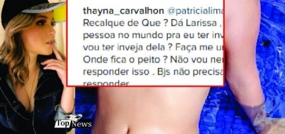 Larissa Manoela posta foto e causa polêmica com novo look