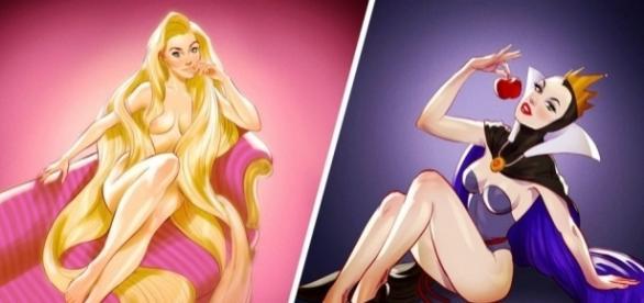 Princesas da Disney para adultos