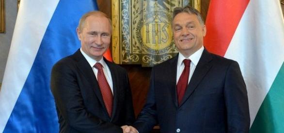 Vladimir Putin a făcut o vizită oficială la Budapesta la invitația premierului Viktor Orban
