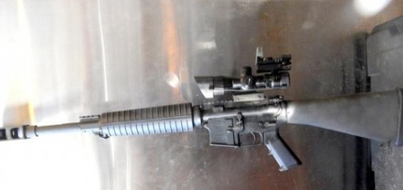 50 cal. gun, photo by John A. McCormick