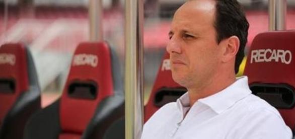 Rogério Ceni, técnico do São Paulo. Acompanhe transmissão de Audax x São Paulo, ao vivo