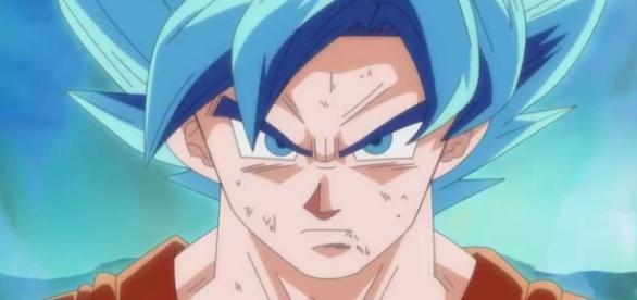 Goku poderia tomar uma surra mesmo nessa transformação.