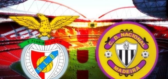Vigésima jornada da Liga NOS: Benfica vs Nacional da Madeira