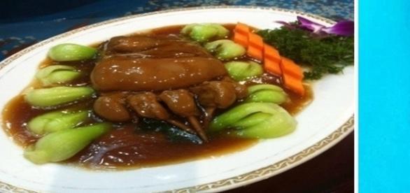 Pés humanos são servidos em restaurante chinês da Itália.