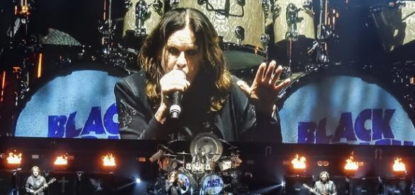 Black Sabbath durante a turnê 'The End'
