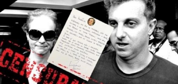 Carta de Luciano Huck à Angélica é revelada