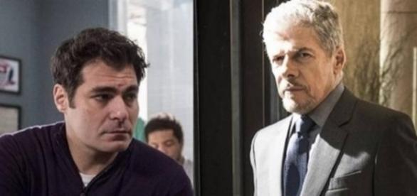 Ciro e Tião em 'A Lei do Amor' (Divulgação/Globo)