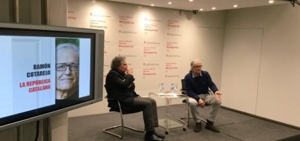 Cotarelo y Tarda. Foto cedida por el Centre Cultural Blanquerna.
