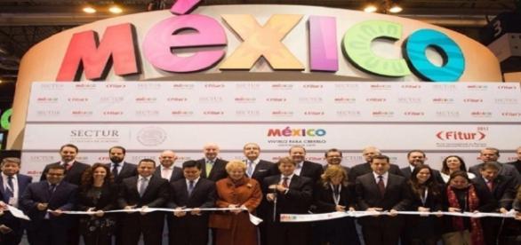 imponente stand de México en FITUR-2017