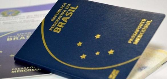 Passaporte oficial da República Federativa do Brasil