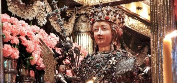 Sant'Agata: vita della Martire Patrona della città di Catania.