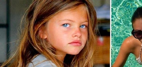 Thylane foi considerada a criança mais bonita do mundo aos quatro anos