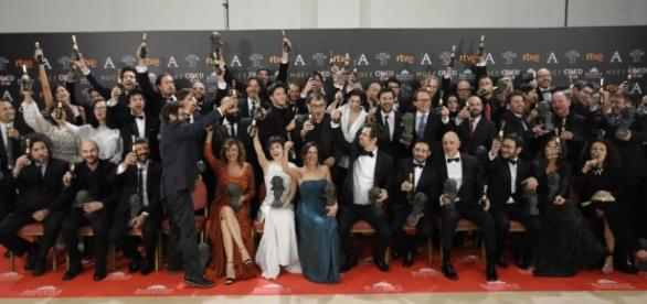 Ganadores de la Gala Premios Goya 2017